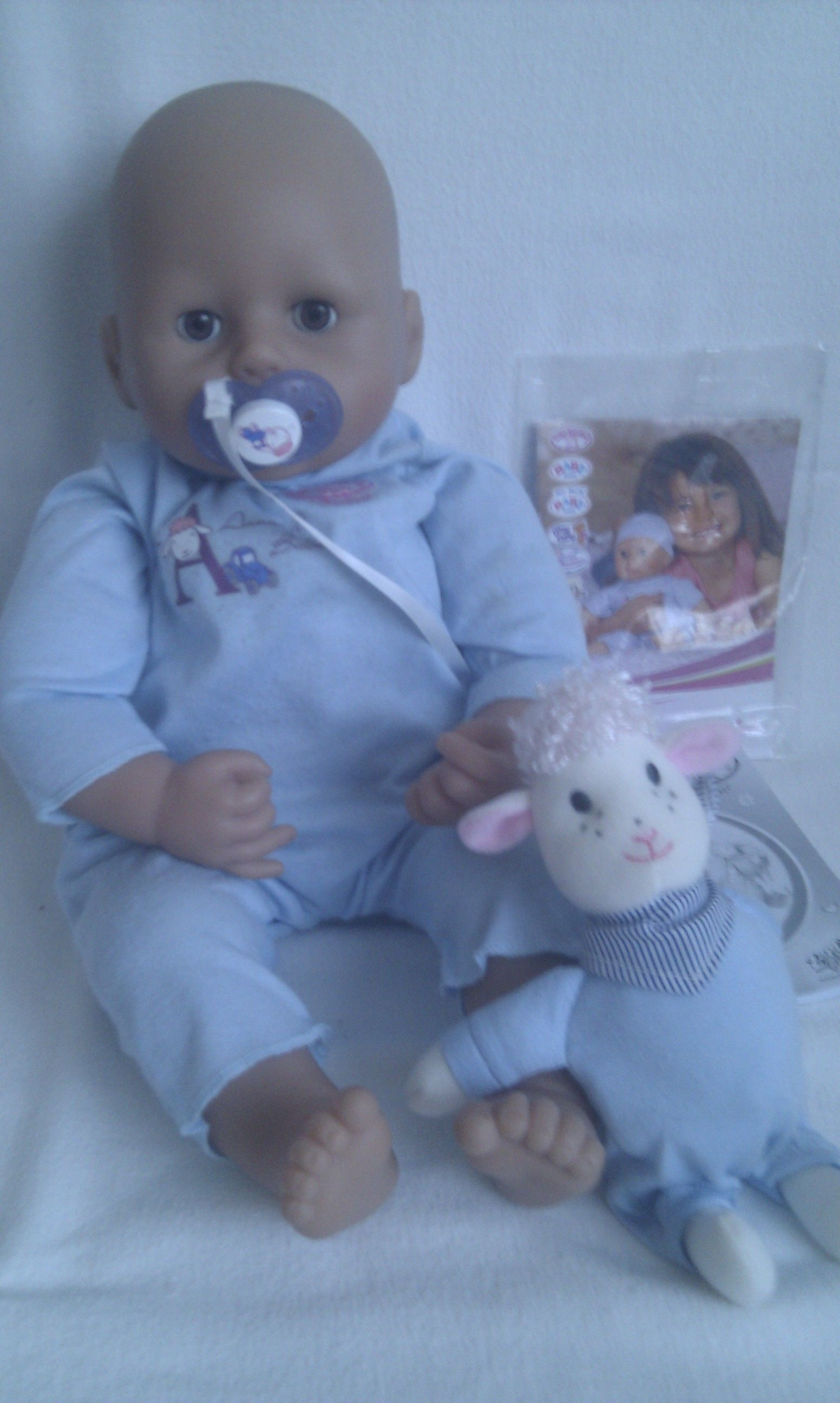 Adorable Big Baby Annabell Brother Zapf Creation