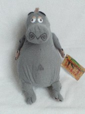 Adorable Big 'Gloria' Hippo Madagascar Plush Toy BNWT