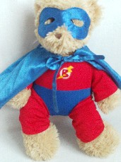 Adorable Big 'Superted' Build-a-Bear Plush Bear