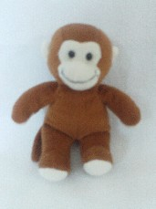 Adorable My 1st Baby 'Cheeky Monkey' Plush Toy