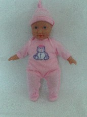 Adorable My 1st Baby Soft Plush Doll