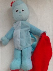 Adorable My 1st Big 'Igglepiggle' Plush Backpack In the Night Garden