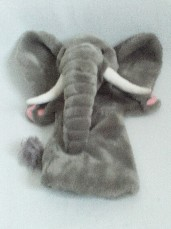 Adorable My 1st 'Elephant' Delightful Hand Plush Puppet
