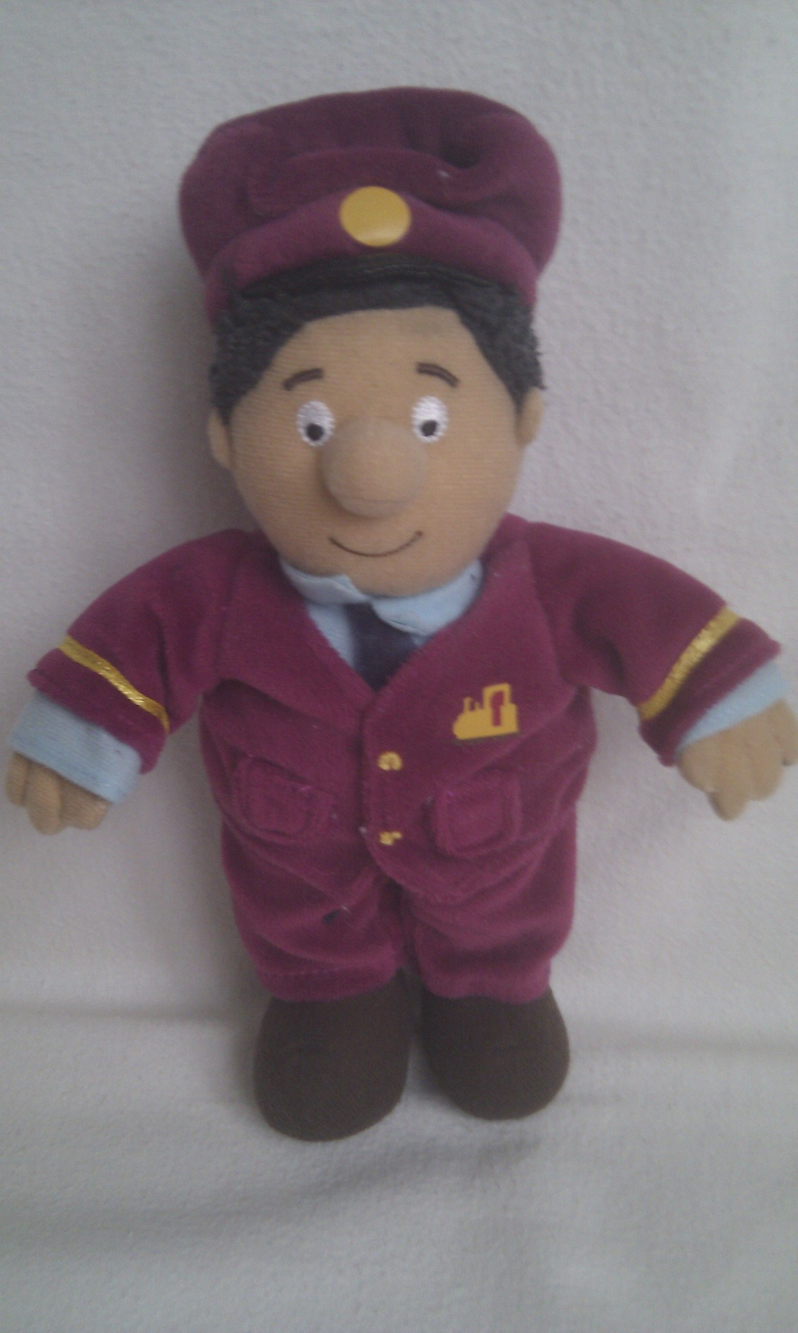 Adorable My 1st Postman Pat Ajay Bains Plush Toy