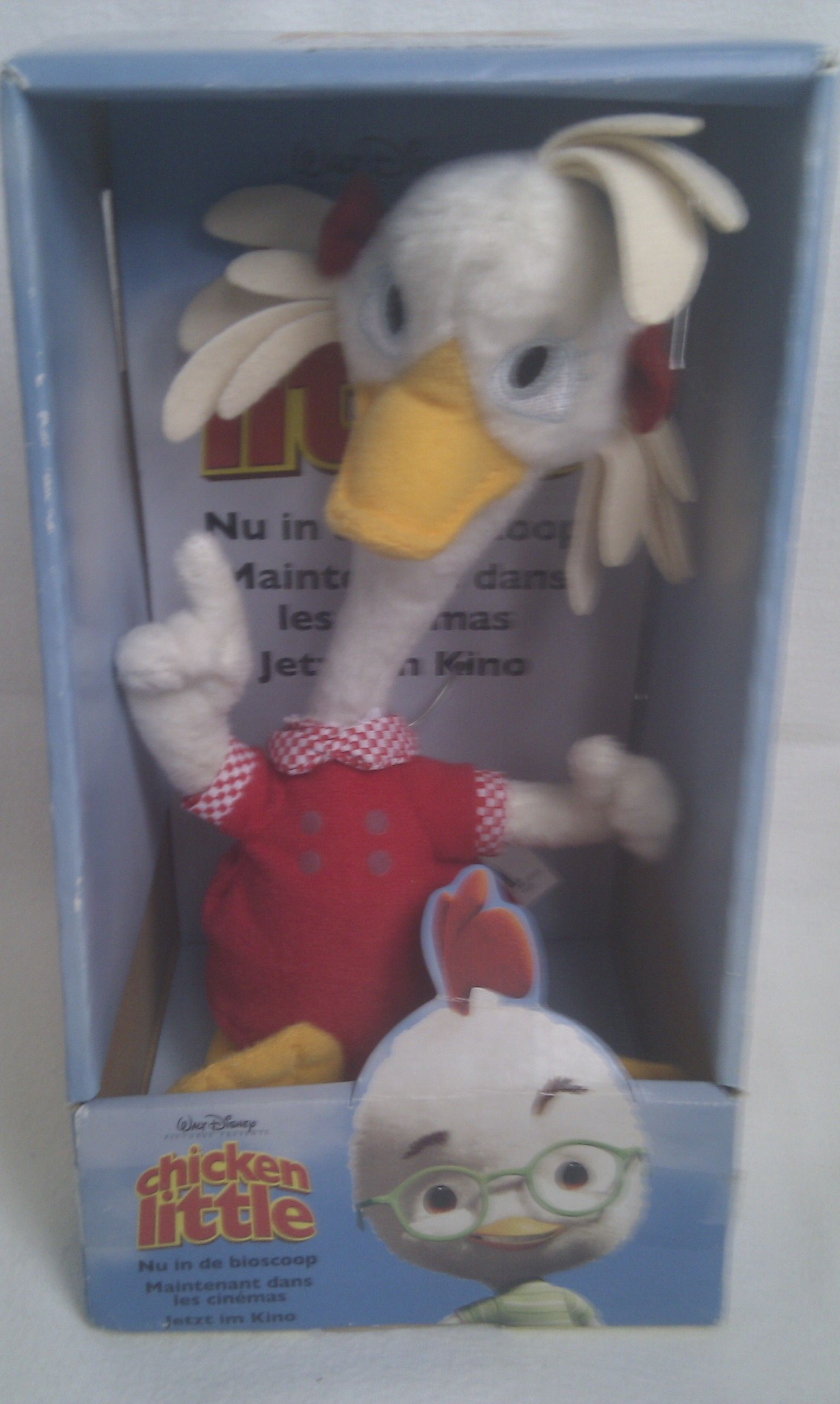 Toys For Little : Adorable rare walt disney chicken little plush toy bnib