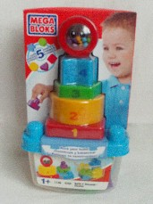 Mega Bloks Baby 'Build n' Discover' Play & Learn Toy Age 1 years+ BNIP