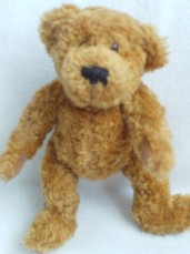 Rare Adorable 'Sunkid Lorsch' Jointed Germany Collectable Plush Bear
