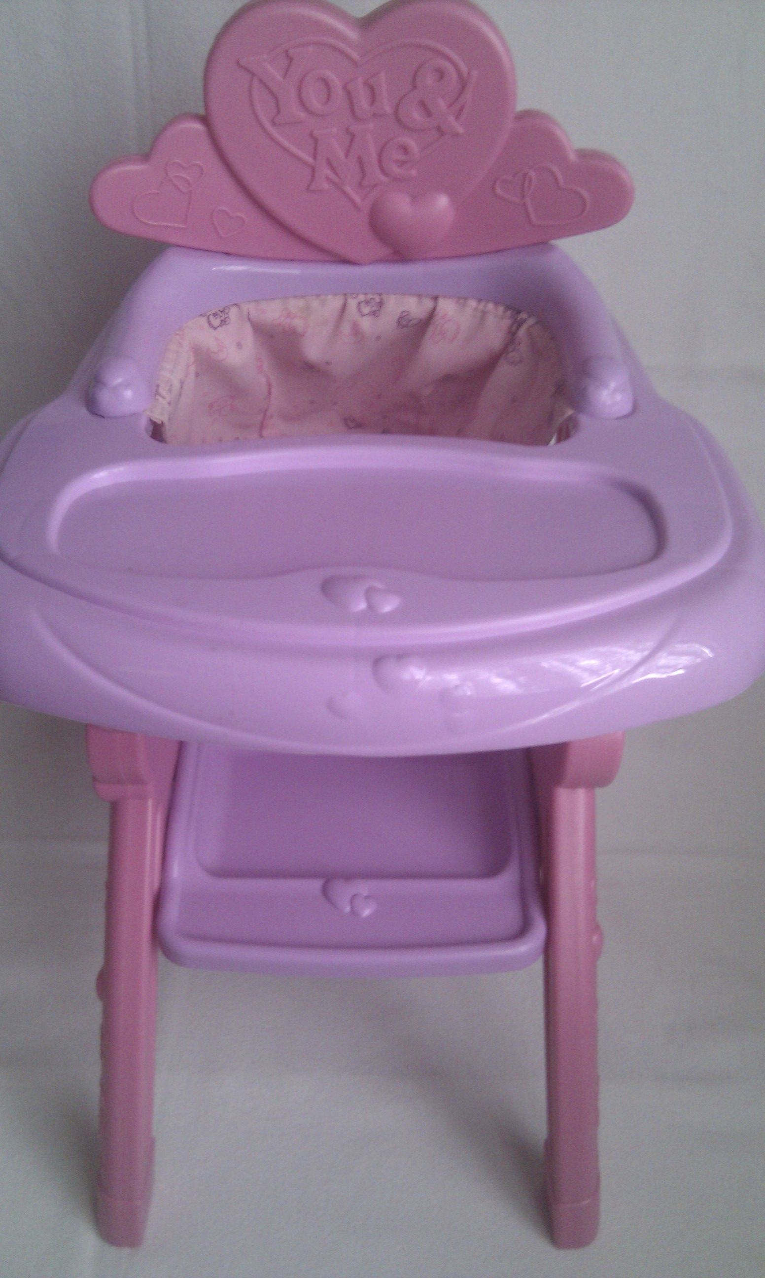 Adorable Baby Doll You Amp Me Baby High Chair