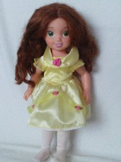 Adorable Big Disney Exclusive 'Belle Princess' Playmate Doll