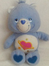 Adorable Big My 1st 'Daydream' Care Bear Plush Toy