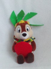 Adorable 'Chipmunk' Disneyland Paris Plush Toy