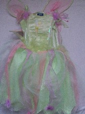 Adorable Deluxe Disney 'Tinkerbell' with Jingle Bells Fairy Fancy Dress 5-7 years