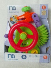 Adorable 'Mothercare Baby Driver Activity Buggy/StrollerToy' BNIP