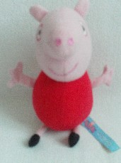 Adorable My 1st Baby 'Peppa Pig' Plush Toy