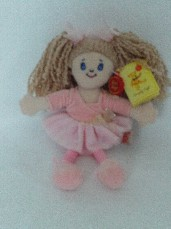Adorable My 1st 'Ballerina' Plush Doll BNWT