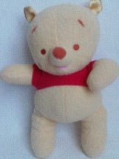 Adorable My 1st Big Disney Baby 'Pooh Bear' Rattle Fisher Price Plush Toy