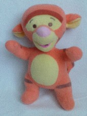 Adorable My 1st Big Disney Baby 'Tigger' Rattle Fisher Price Plush Toy
