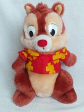 Adorable My 1st Big Disney 'Vacation Chipmunk' Plush Toy