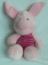 Adorable My 1st Big 'Piglet' Soft Bedtime Plush Toy