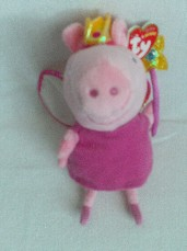 Adorable My 1st 'Fairy Princess Peppa Pig' Plush Toy BNWT