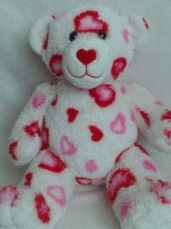 Adorable My 1st 'Love Heart' Build-a-Bear Plush Bear