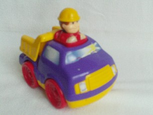 Adorable My 1st Push Along Speedy 'Tipper Chunky Pick Up Truck' Toy