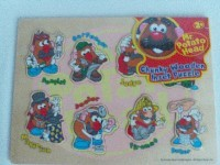 Adorable My 1st Toy Story 'Mr Potato Head' Chunky Wooden Traditional Puzzle BNIP