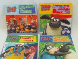 Adorable Set of 4 'Timmy Time' Bedtime Glossy Picture Story Books