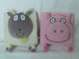 Adorable Set of My 1st Baby 'Animal' Plush & Board Bedtime Story Books
