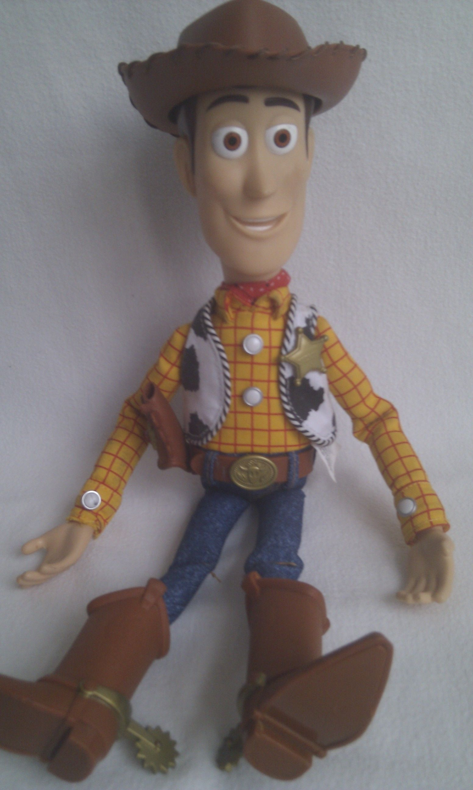 Disney pixar big talking toy story sheriff woody cowboy pull string  collectable toy jpg 1552x2592 Disney 136b6813bb6