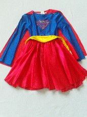 Fabulous Marvel 'Super Girl' 3-Piece Fancy Dress Outfit BNWT 2-4 years