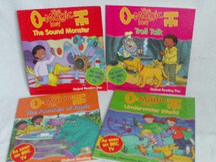 Fabulous Set of 4 'The Magic Key' Oxford Reading Tree Early Readers Books